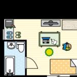 Studio apartment ってどんなアパートのこと?